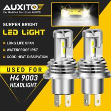 Super Bright H4 9003 HB2 24000LM LED Headlight High Low Beam 6500K Bulbs M3 EOA