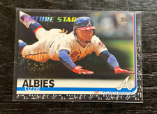 Ozzie Albies Black 13/67 Future Stars 2019 Topps #561 Braves