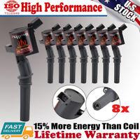 8 Pack Ignition Coils On Plug For Ford Lincoln Mercury 4.6L 5.4L V8 DG508 C1454