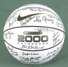 HALL OF FAME BASKETBALL - BASKETBALL SIGNED WITH CO-SIGNERS