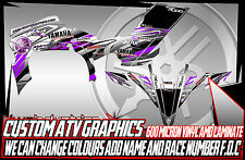 YAMAHA RAPTOR 250/350/660/700 YFZ450 YFZ450R GRAPHICS DECALS