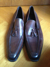 ERMENEGILDO ZEGNA Marron Brown Loafers mocassin US 13 EUR 46 UK 12