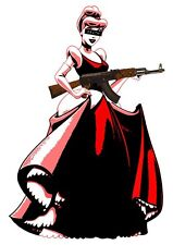 USA Death NYC lithografic print 'Cinderella AK47' - signed and numbered - COA