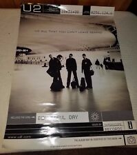 """U2 Vintage Album Release Poster for 'All That You Cant Leave Behind', 18""""x24"""""""
