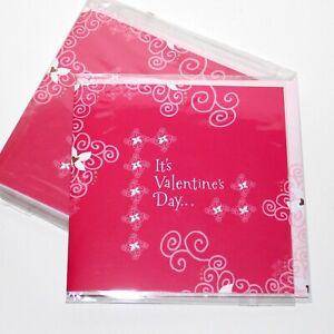 STARBUCKS set 6 Valentines Cards and envelopes American Greetings Postal coffee