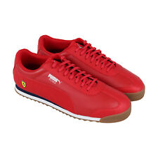 Puma Scuderia Ferrari Roma 30608309 мужские красные Motorsport низкий топ кроссовки, обувь