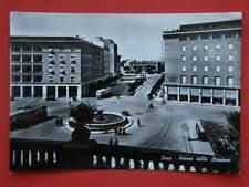 PISA piazza stazione filobus vecchia cartolina