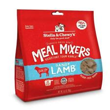 Stella Chewy S Freeze Dried Raw Dandy Lamb Meal Mixers Grain Dog Food 3.5