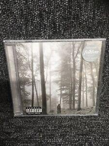 Taylor Swift  - Folklore  -  CD + Bonus Track -  New & Sealed. Freepost In Uk.