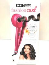 New Conair Fashion Curl Curling Iron- Pink. Model CD213