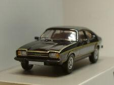 """Premium ClassiXXs Ford Capri MK II, 1974, """"JSP"""", schwarz - PCX 870070 - 1:87"""