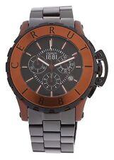 "Cerruti 1881 Men'S Watch Ceramic black CRA078Z299H RRP $690 ""Special Offer"""