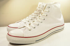 DS 2015 CONVERSE CHUCK TAYLOR ALL STAR HI WHITE CANVAS 13 VINTAGE JOHN VARVATOS