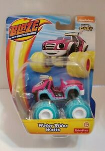 Blaze and the Monster Machines Water Rider Watts Die-Cast Toy Vehicle - NEW