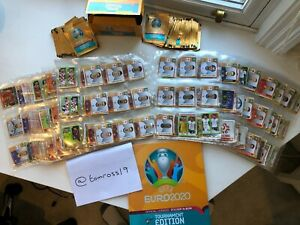 Panini Uefa Euro 2020 Stickers Pick 1, 5, 10, 20, 30, 50 100 & More incl. Shiney