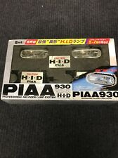 New PIAA 930 HID Lights