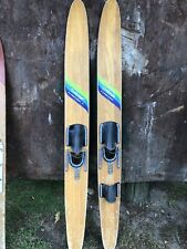 Vintage Challenger By cypress gardens - Wooden water skis