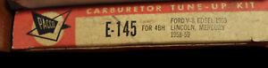 Pacco Carburetor Tune Up Kit E-145 Ford V8 Edsel 1959 Lincoln Mercury 58 (466*)