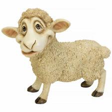 "Little Paws ""Baa'ry� Sheep Figurine Statue 5"" Long Ceramistone New In Box!"