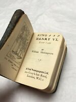 King Henry VI Miniature Book First Part William Shakespeare 1920s Antique Play