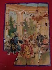 ANCIEN PUZZLE EN BOIS LE MENUET  / JOUETS JEUX ANCIEN n°5