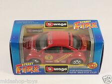 [PG3-39] BBURAGO BURAGO 1/43 STREET FIRE #41601 VOLKSWAGEN NEW BEETLE CUP NEW