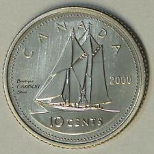 2000 Canada Specimen 10 Cents