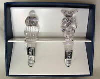 Set of 2 MIKASA Crystal Decanter Bottle Stoppers Grapes PARK LANE NEW NIB