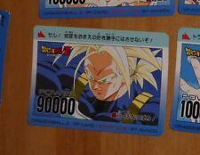 DRAGON BALL Z DBZ AMADA PP PART 20 CARD CARDDASS CARTE 861 MADE IN JAPAN NM