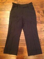 Paul Smith Black Cropped Wool Dress Pants Size 2 - 4 (US) 40 (EU)
