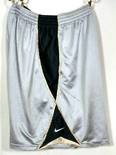 NIKE Team Basketball  Shorts Purdue Boilermakers Mens XXL 42 44 Silver Gold 2XL