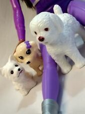 Barbie puppy dogs - lot of 3 cute puppies for Barbie & other similar size dolls