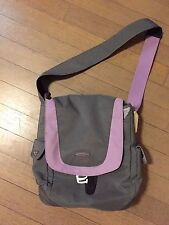 Keen Gray/Lavender Crossbody Bag with sturdy Keen Rubber bottom