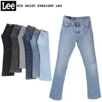 VINTAGE LEE WOMENS MID WAIST STRAIGHT LEG JEANS DENIM 26 in. to 40 in.