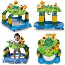 Children Play Station 3-in-1 Activity Baby Walker Mason Turtle kids Unisex Green