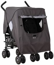 Koo-di Pack It Double Rain Cover for Pram/Pushchair/Stroller Travel Accessory Bn