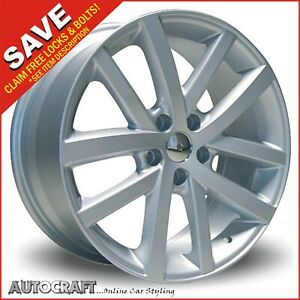 """18"""" VANCOUVER S Style ALLOY WHEELS + TYRES - VW GOLF / CADDY / TRANSPORTER T4"""