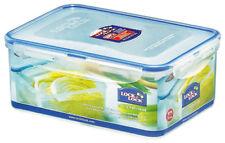 Lock & Lock 2.3 Litre Rectangle Food Storage Container Plastic Box BPA Free