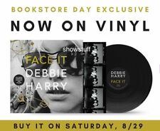 DEBBIE HARRY FACE IT MEMOIR DOUBLE VINYL ALBUM LP BLONDIE BOOKSTORE DAY 8/29