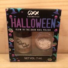 "HALLOWEEN ""Ghoulish"" Awesome Glow-in-the-Dark Nail Polish Mini Make-up Kit *NEW*"