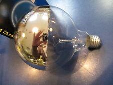 LAES Lámpara de globo G125 E27 parte reflectante PLATA 100W ø 125mm Bombilla