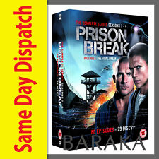 Prison Break Complete Season Series 1, 2, 3 & 4 DVD Box Set New Sealed
