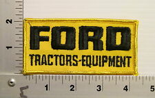 1980's FORD TRACTORS EQUIPMENT VINTAGE 2X4 PATCH PATCHES