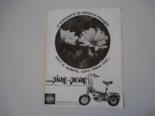 advertising Pubblicità 1972 DEMM PINGPONG PING PONG