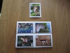 EDEKA STICKER - Mit 180 Stickern um die Welt - Von WWF und EDEKA
