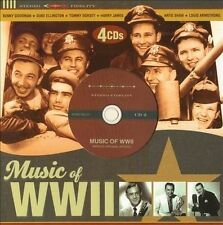 Audio CD: Music of WWII (Limited Edition 4 CD Set), (Original Artist re-recordin