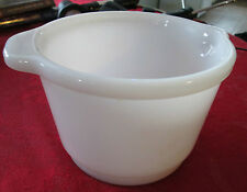 Milk Glass mixing bowl for Sunbeam or similar mixer 1 Quart