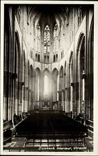 Utrecht Niederlande s/w AK ~1950/60 Domkerk Interieur Inneres der Dom Kirche
