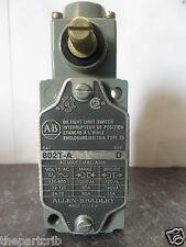 Nice Allen Bradley 802T-A Side Rotary Limit Switch Series D