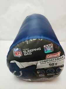 NFL Indianapolis Colts Sleeping Bag Youth - Coleman blue with team logo